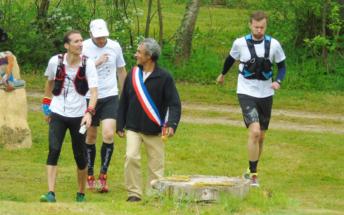 Accueil du Maire de Boult-aux-Bois Frédéric Mathias 2