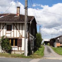 Les maisons typiques argonnaises en pans de bois