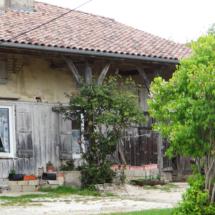 Les vieilles maisons en torchis à Foucaucourt
