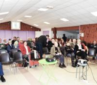 Photo Michel Coistia - Préparation Du Temps D'échange Et Interventions Des Personnalités Invitées
