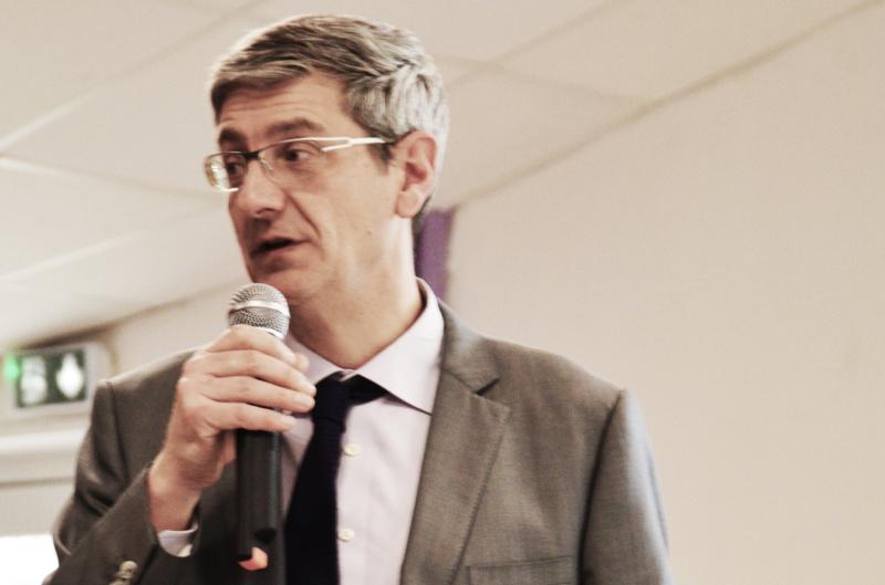 Photo de Michel Coistia, rapports aux comptes présentés par Olivier Aimont